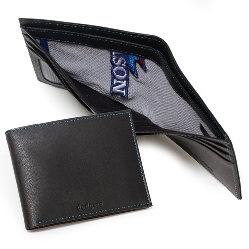 Photo of Tokens & Icons Los Angeles Dodgers Game Used Uniform Wallet