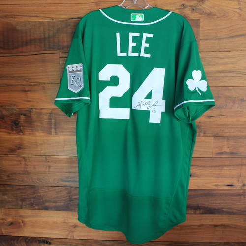 Photo of Autographed 2020 St. Patrick's Day Jersey: Khalil Lee #24 - Size 46