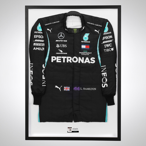 Photo of Lewis Hamilton 2020 Official Replica Race Suit