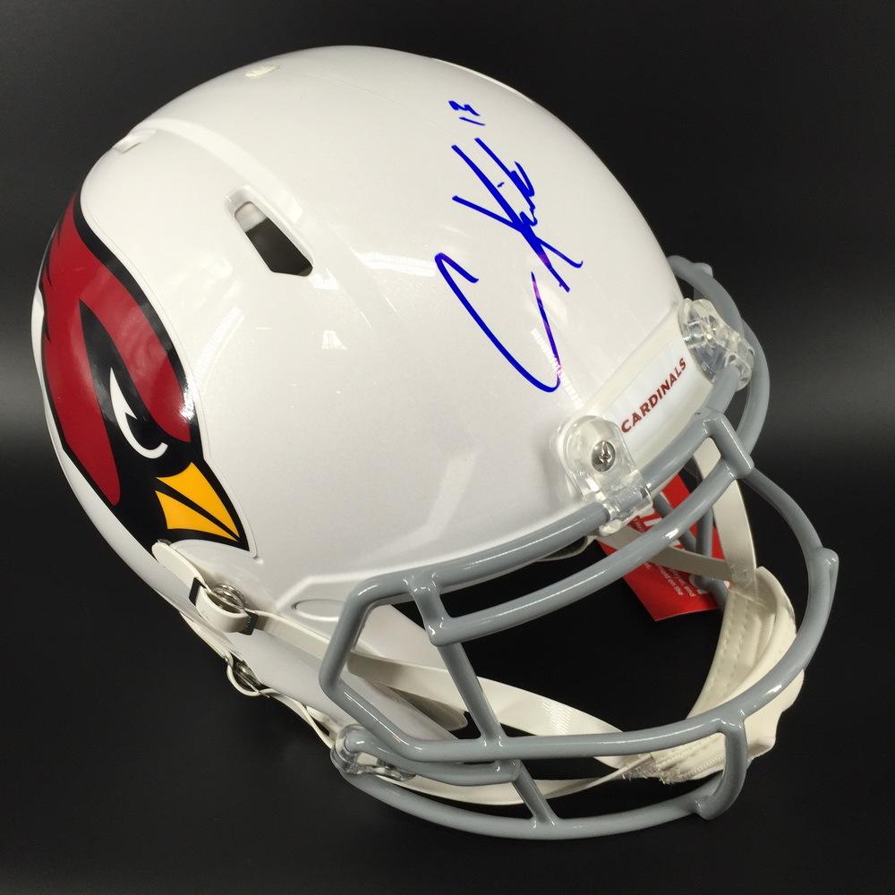 NFL - CARDINALS WR CHRISTIAN KIRK SIGNED CARDINALS REVOLUTION HELMET