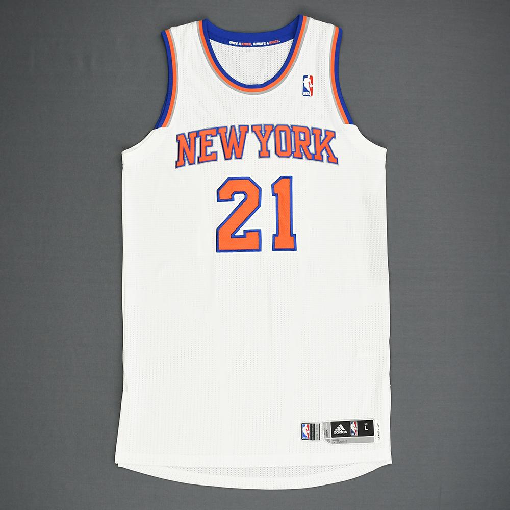 Iman Shumpert - New York Knicks - Game-Worn Jersey - 2013-14 NBA Season