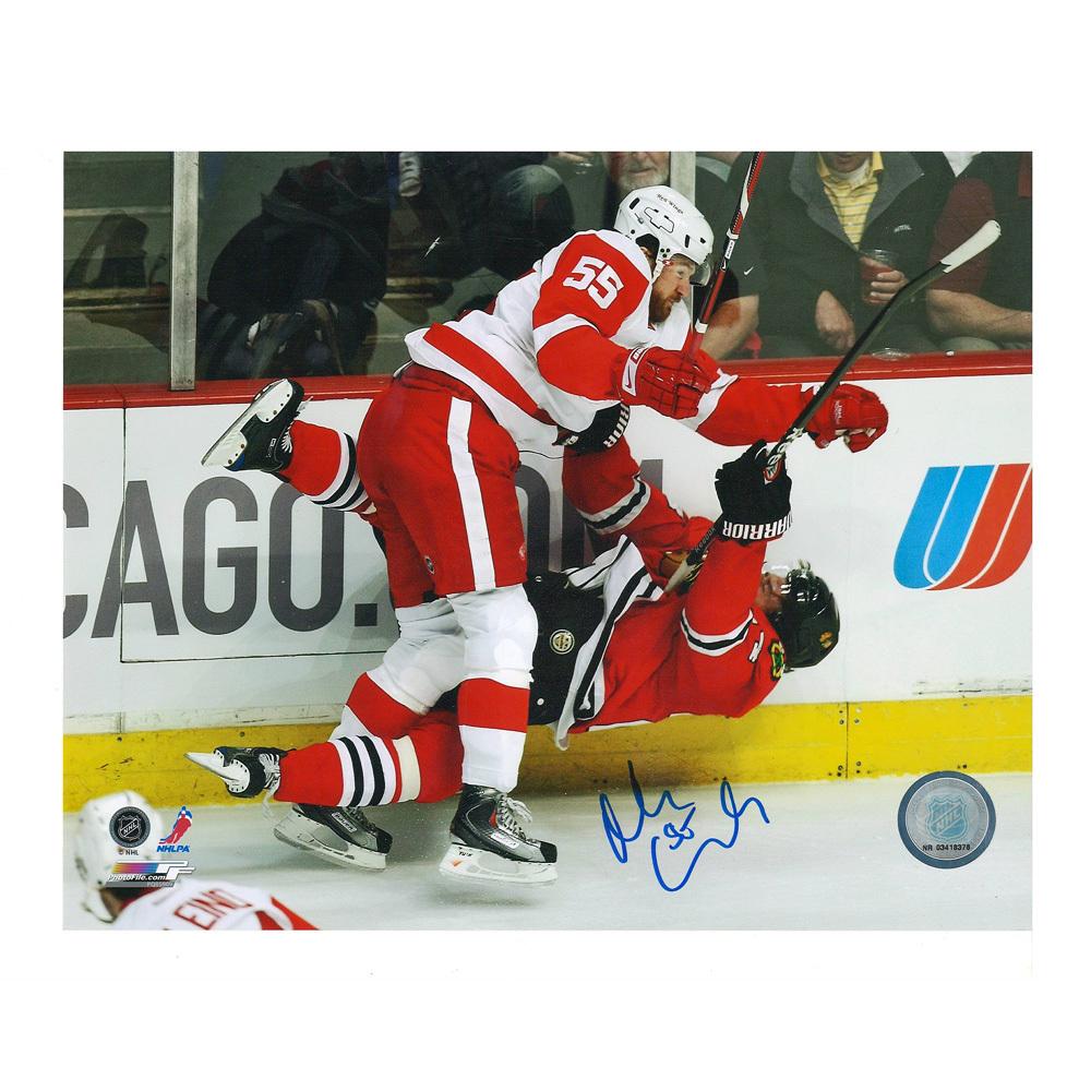 NIKLAS KRONWALL Signed Detroit Red Wings 8 X 10 Photo - 70428