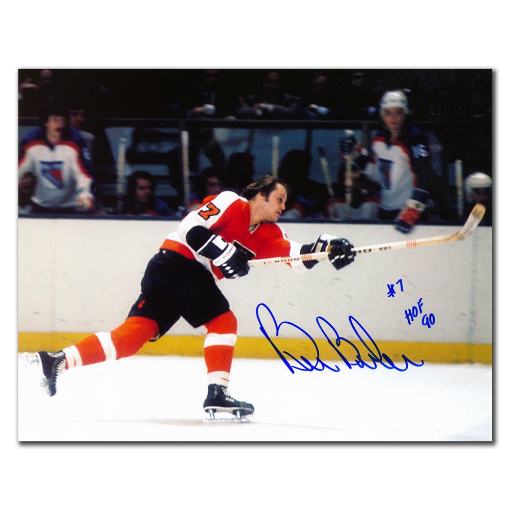 Bill Barber Philadelphia Flyers HOF Slapshot Autographed 8x10