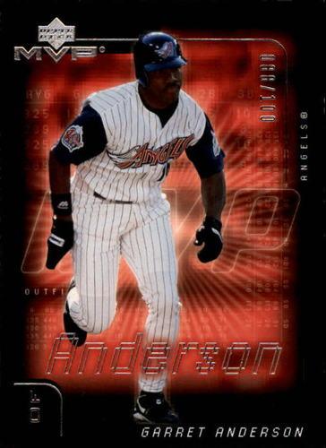 Photo of 2002 Upper Deck MVP Silver #3 Garret Anderson 88/100