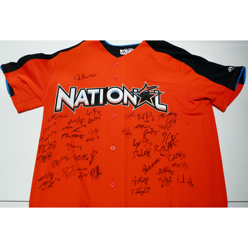 Photo of Compton Youth Academy Auction: 2017 ASG Jersey Signed by the National League All-Stars - Not Authenticated by MLB