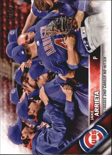 Photo of 2016 Topps Update #US62 Jake Arrieta HL