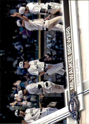 Photo of 2017 Topps #557 Milwaukee Brewers