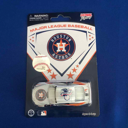 Photo of UMPS CARE AUCTION: Houston Astros Lionel Racing MLB 1:64 Scale Stock Car