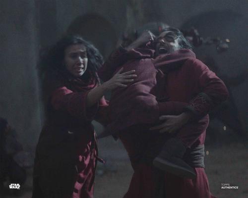 Din Djarin's Father, Din Djarin's Mother and Young Din Djarin