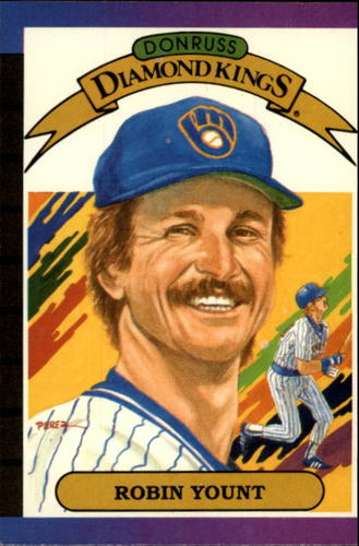 Photo of 1989 Donruss #5 Robin Yount DK