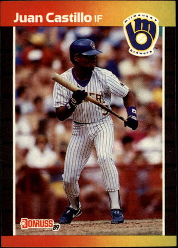 Photo of 1989 Donruss #530 Juan Castillo DP