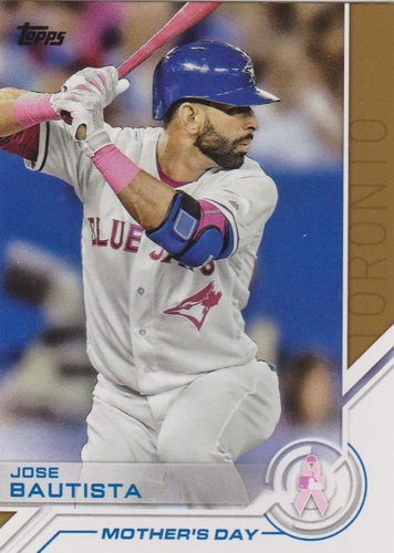 Photo of 2017 Topps Salute #S93 Jose Bautista