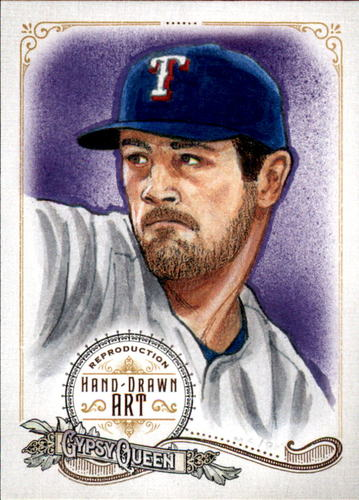 Photo of 2017 Topps Gypsy Queen Hand Drawn Art Reproductions #GQARCH1 Cole Hamels