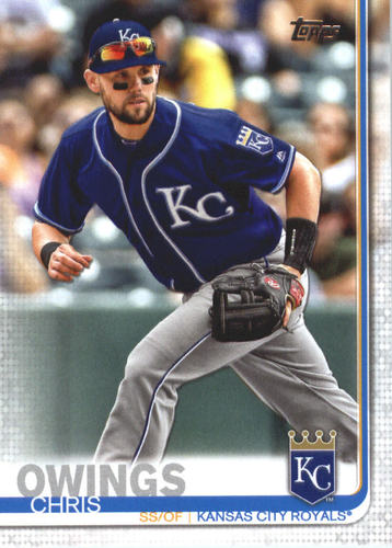 Photo of 2019 Topps #548 Chris Owings