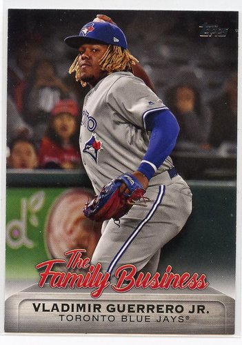 Photo of 2019 Topps Update The Family Business #FB24 Vladimir Guerrero Jr.