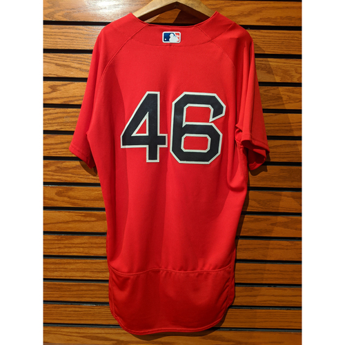 Photo of Craig Kimbrel Game Used Home Red Jersey