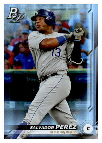 Photo of 2019 Bowman Platinum #88 Salvador Perez
