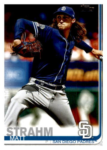 Photo of 2019 Topps Update #US102 Matt Strahm