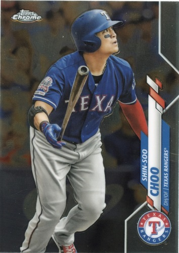 Photo of 2020 Topps Chrome #177 Shin-Soo Choo