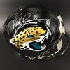 Legends - Jaguars Mark Brunell Signed Proline Helmet (Smudged Signature)