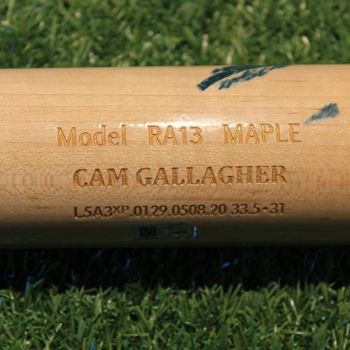 Photo of Game-Used Broken Bat: Cam Gallagher #36 (MIN @ KC  8/21/20)