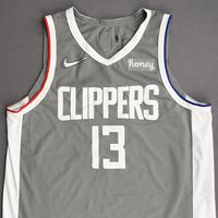 Paul George - Los Angeles Clippers - Game-Worn - Earned Edition Jersey - Scored Team-High 28 Points - 2020-21 NBA Season