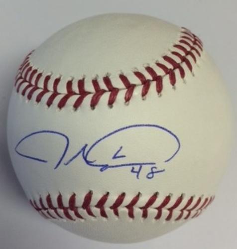 Jacob deGrom Autographed Baseball