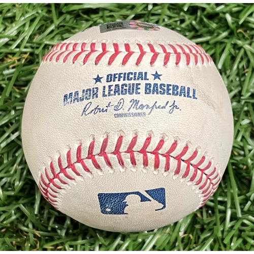 Photo of Game Used Baseball: Shohei Ohtani Cycle Game - June 13, 2019 v LAA (See Description For Details)