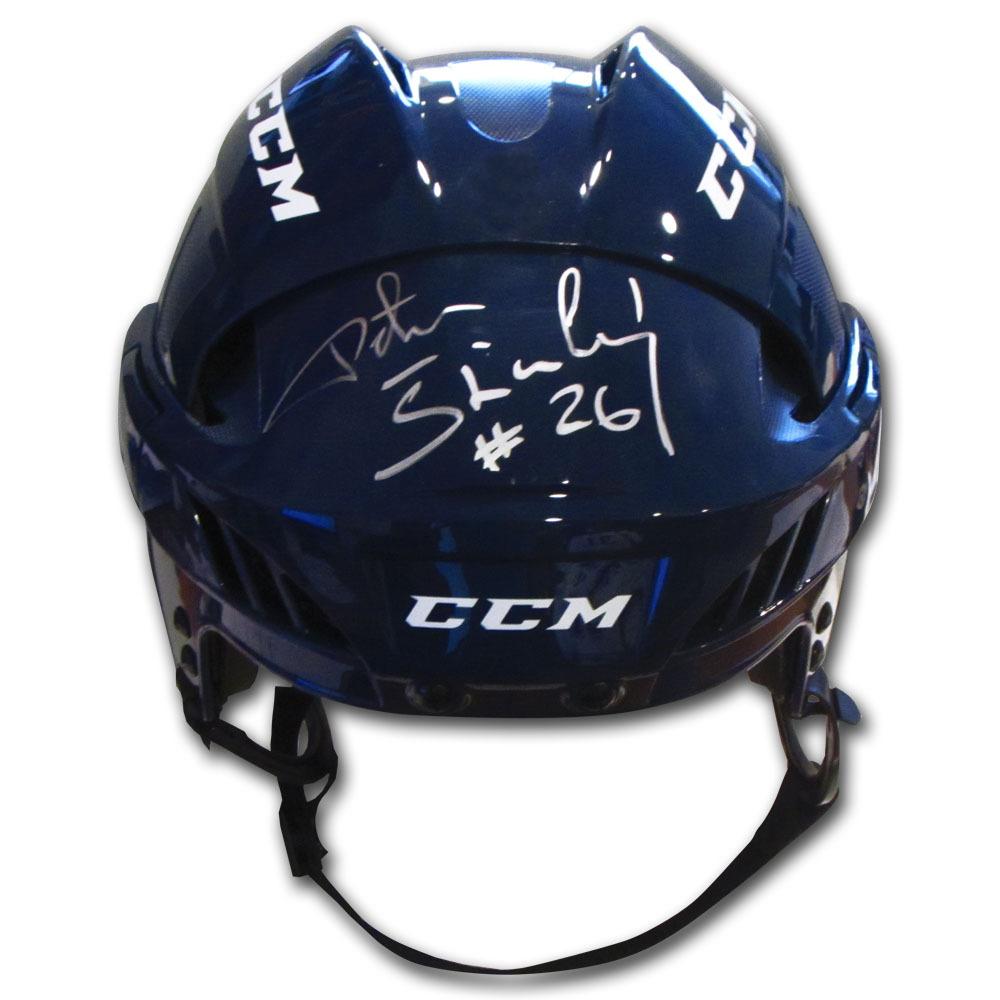 Peter Stastny Autographed Reebok Hockey Helmet (Quebec Nordiques)