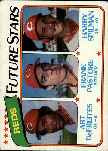 Photo of 1980 Topps #677 Art DeFreites RC/Frank Pastore RC/Harry Spilman