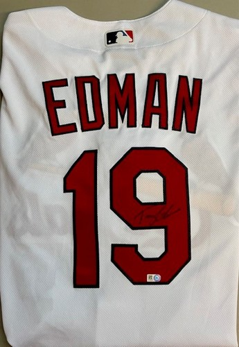 Photo of Tommy Edman Autographed Authentic Cardinals Jersey