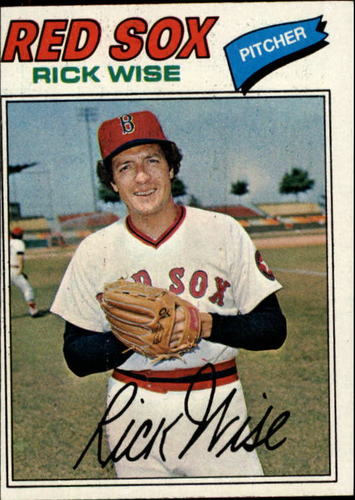 Photo of 1977 Topps #455 Rick Wise