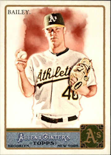 Photo of 2011 Topps Allen and Ginter #257 Andrew Bailey