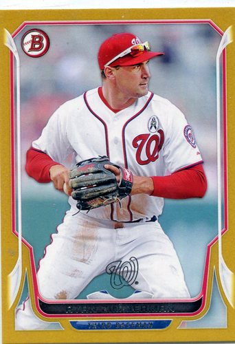 Photo of 2014 Bowman Gold #186 Ryan Zimmerman