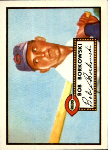 Photo of 1983 Topps 1952 Reprint #328 Bob Borkowski