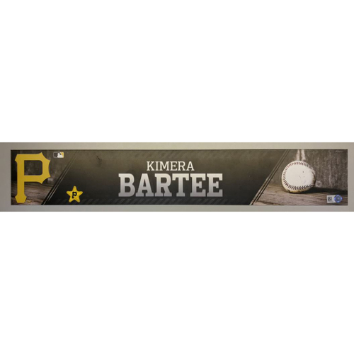 Photo of Kimera Bartee Game-Used Locker Name Plate