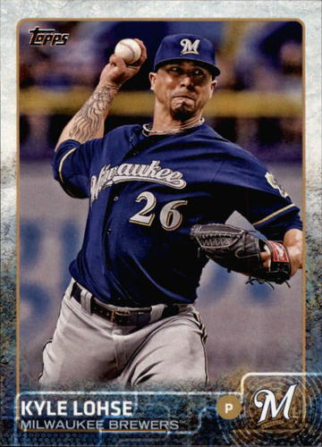 Photo of 2015 Topps #410 Kyle Lohse