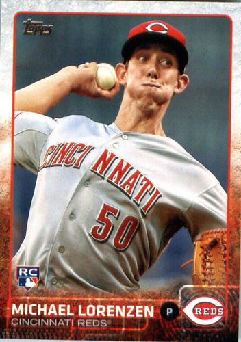 Photo of 2015 Topps Update #US38 Michael Lorenzen Rookie Card