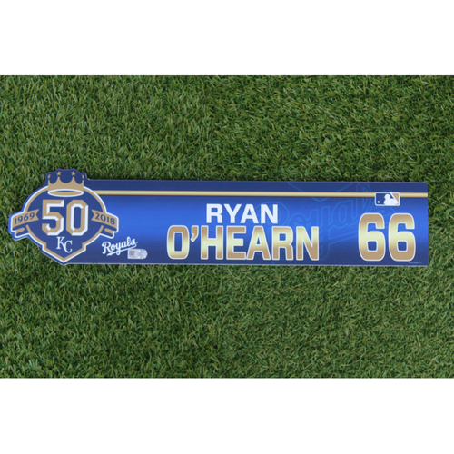 Photo of Game-Used Locker Nameplate: Ryan O'Hearn