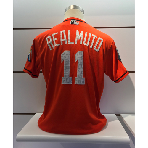 Photo of Game-Used Jersey: J.T Realmuto 2018 Spring Training Jersey (Size 46)