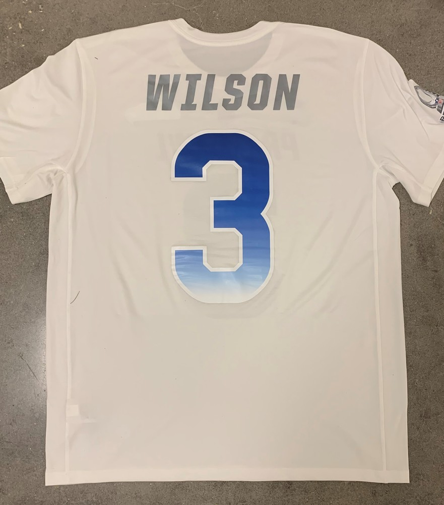 low cost 022b4 260cc NFL Auction | PCF - Russell Wilson Practice Worn Pro Bowl ...
