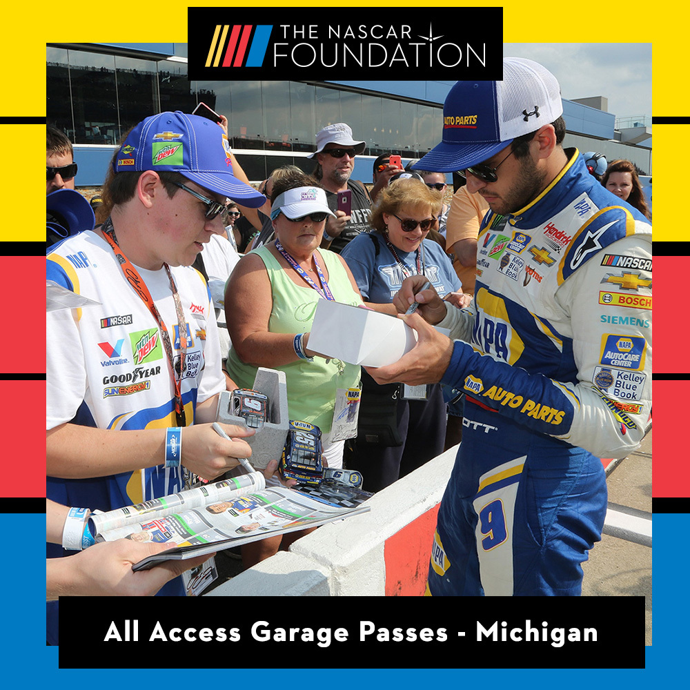 All Access Garage Passes at Michigan International Speedway!