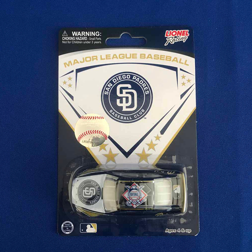 Photo of UMPS CARE AUCTION: San Diego Padres Lionel Racing MLB 1:64 Scale Stock Car