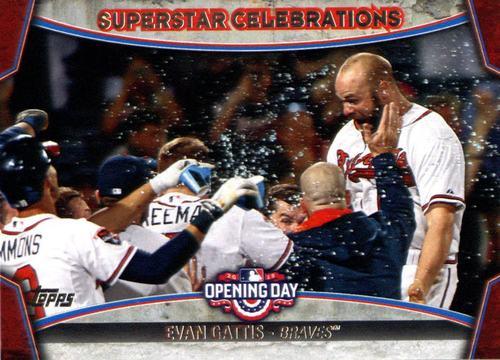 Photo of 2015 Topps Opening Day Superstar Celebrations #SC25 Evan Gattis