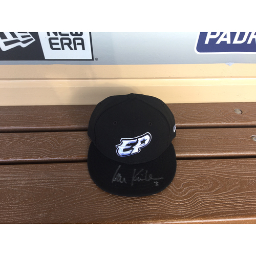 Photo of El Paso Victims Relief Fund Auction San Diego Padres Signed Ian Kinsler El Paso Chihuahuas Hat