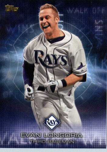 Photo of 2016 Topps Walk Off Wins #WOW3 Evan Longoria