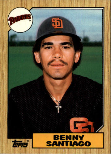Photo of 1987 Topps Traded #109T Benito Santiago