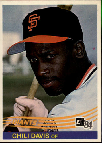 Photo of 1984 Donruss #114 Chili Davis