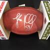 Panthers - Luke Kuechly Signed Authentic Football
