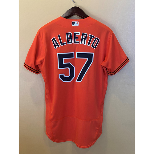 Hanser Alberto: Home run Jersey (Game-Used)